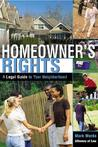 Homeowner's Rights: A Legal Guide to Your Neighborhood