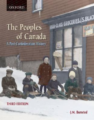 The Peoples Of Canada: A Post Confederation History