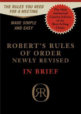 Robert's Rules of Order by Henry Martyn Robert