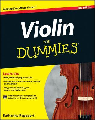 Violin for Dummies [With CD (Audio)]