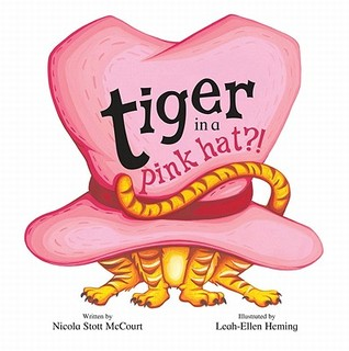 Tiger in a Pink Hat
