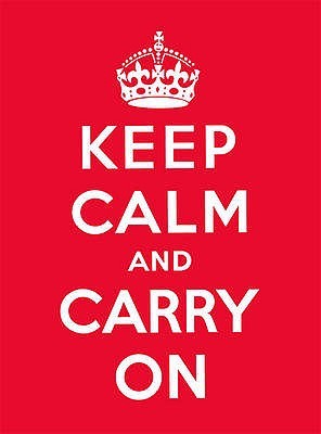 Keep Calm and Carry On by Ebury Publishing
