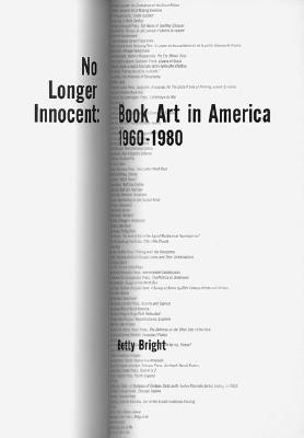No Longer Innocent by Betty Bright