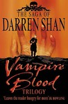 Vampire Blood Trilogy (The Saga of Darren Shan, #1-3)