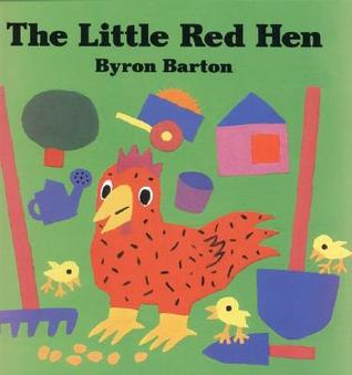 The Little Red Hen Big Book by Byron Barton