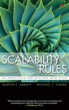 Scalability Rules...