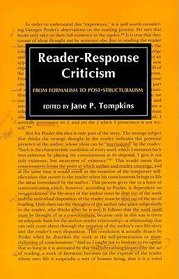 Reader-Response Criticism by Jane P. Tompkins