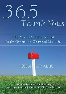 365 Thank Yous by John Kralik