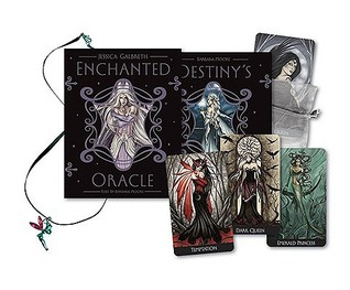 Enchanted Oracle With 240-Page Guidebook and 36-Card Oracle Deck and Silver Bag and Fairy Pendant