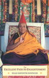 The Excellent Path To Enlightenment by Dilgo Khyentse