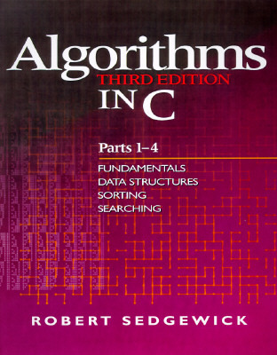 Algorithms in C, Parts 1-4 by Robert Sedgewick