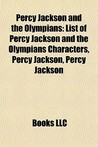 Percy Jackson and the Olympians: List of Percy Jackson and the Olympians Characters