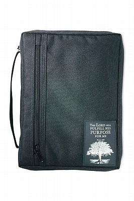 NOT A BOOK The Purpose Driven® Life Patch XL (Bible Cover)