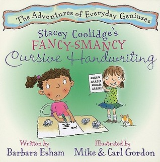 Stacey Coolidge's Fancy-Smancy Cursive Handwriting by Barbara Esham