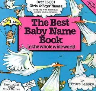 Best Baby Name Book In The Whole World by Vicki Lansky