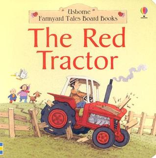 Red Tractor Board Book