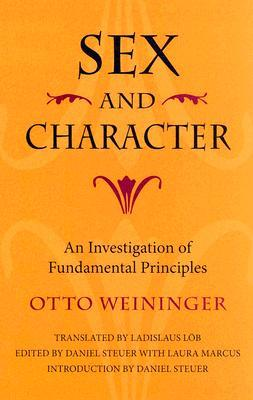 Sex and Character by Otto Weininger