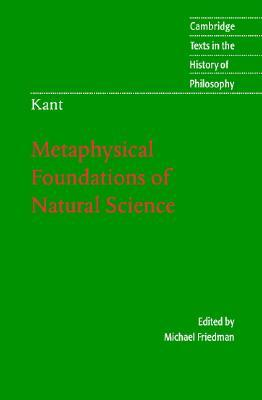 Metaphysical Foundations Of Natural Science
