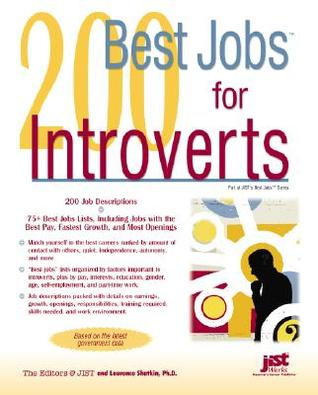 200 Best Jobs for Introverts by Laurence Shatkin