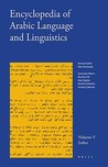 Encyclopedia of Arabic Language and Linguistics, Volume 5: Index