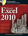 Excel 2010 Bible [With CDROM]