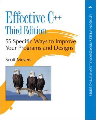Effective C++ by Scott Meyers