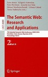 The Semantic Web: Research and Applications: 7th European Semantic Web Conference, ESWC 2010 Heraklion, Crete, Greece, May 30 - June 3, 2010 Proceedings, Part II