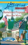 Hometown Proposal (Steeple Hill Love Inspired (Large Print))