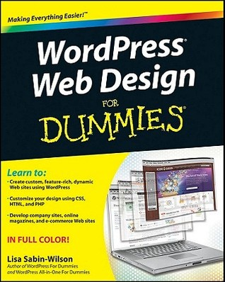 WordPress Web Design for Dummies by Lisa Sabin-Wilson
