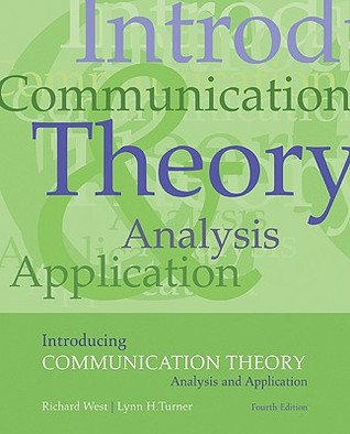 Introducing Communication Theory by Richard West