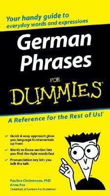 German Phrases for Dummies by Paulina Christensen