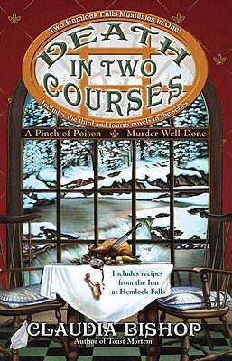 Death in Two Courses (Hemlock Falls Mysteries, #3-4)