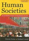 Human Societies: An Introduction to Macrosociology, Eleventh Edition