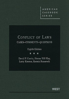Conflict of Laws by David P. Currie