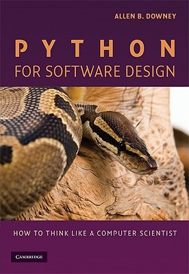 Python for Software Design by Allen B. Downey