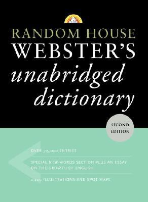 Random House Webster's Unabridged Dictionary by Random House Value Publishing