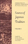 Sources of Japanese Tradition, Volume II