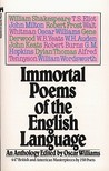 Immortal Poems of the English Language by Oscar Williams