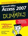 Access 2007 For Dummies (For Dummies (Computer/Tech))