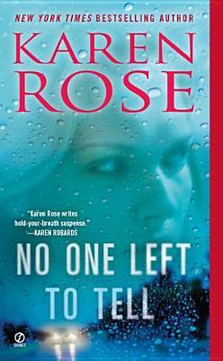 No One Left to Tell (book, #13)