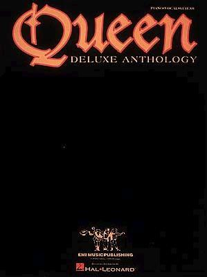 Queen - Deluxe Anthology (Piano/Vocal/Guitar Artist Songbook)