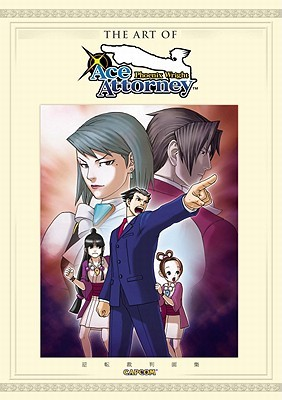 The Art Of Phoenix Wright by Udon Entertainment