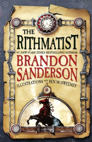 The Rithmatist by Brandon Sanderson ARC