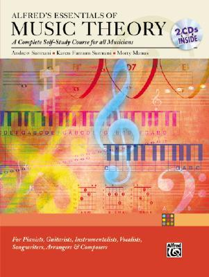 Alfred's Essentials of Music Theory Complete Self Study Guide by Andrew Surmani