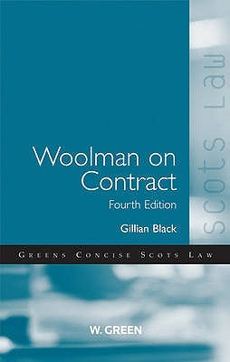 Woolman On Contract by Gillian Black