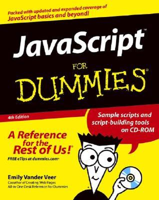 JavaScript for Dummies With CDROM