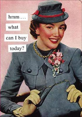 Not a book Hmm...What Can I Buy Today? Journal (Anne Taintor)