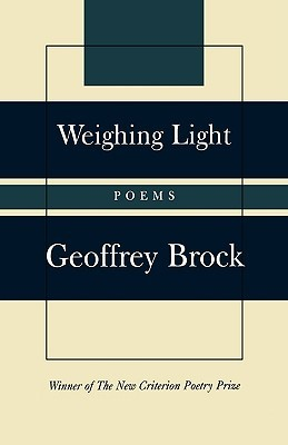 Weighing Light: Poems