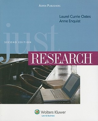 Just Research [With CDROM] by Laurel Currie Oates