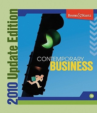 Contemporary Business 2010 Update [With CDROM] by Louis E. Boone